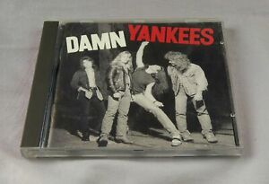 CD Damn Yankees Self Titled 1990 Warner Bros Records Teed Nugent Tommy Shaw