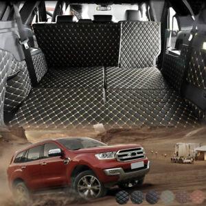 Rear Trunk Mat For Ford Everest 2015 2016 2017 2018 19 20 Boot cargo mat liner