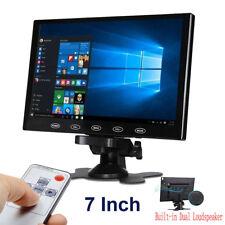 "7""/9""/10"" PC Screen LCD CCTV DSLR Monitor AV/RCA/VGA/HDMI 1080p for Raspberry Pi"