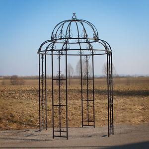 """Metall Pavillon Garten Rosenpavillon Rankgitter Rankhilfe Spalier """"Antik"""""""