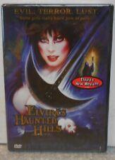 Elvira's Haunted Hills (DVD, 2002) RARE HORROR COMEDY BRAND NEW