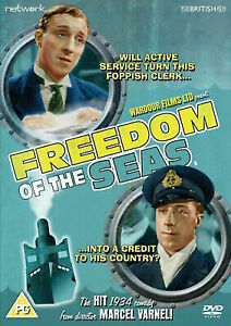 Freedom of the Seas DVD 1934 War Comedy Movie Clifford Mollison H.F Maltby