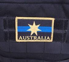 Thin Blue Line, Patch, Australia, Police, Star, Federation, TBL