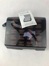 Remington Heated Clip Hair Rollers Hot Electric Curlers Pearl Ceramic  *VGC*