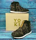 Yoki Women's Shoes Fashion Sneakers James Camouflage Camo High Top Size 10 NEW