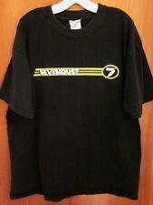 SEVENDUST tee Too Close to Hate metal XL rock Atlanta T shirt 1997 racing stripe