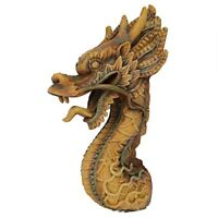 "18.5"" Hand carved Asian Dragon Trophy sculptural Dimension Plaque"