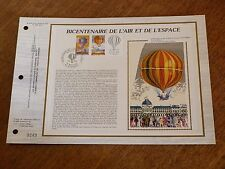 N° 675 S DU CATALOGUE CEF     BICENTENAIRE DE L'AIR ET DE L'ESPACE