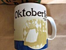 Starbucks Coffee mug OKTOBERFEST Munich München GERMANY 2015 Global Icon Cup SKU