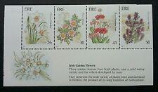 Ireland Garden Flowers 1990 Flora Plant (miniature sheet) MNH