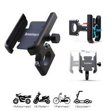 Handyhalterung Fahrrad ALU 360° Motorrad Roller Bike Universal Lenker Smartphone