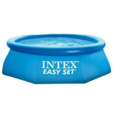 PISCINE AUTOPORTANTE GONFLABLE EASY SET INTEX 2.44 X 0.76 M (NEUF)