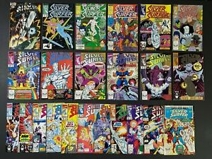 Part Run of (23) Silver Surfer (1987-93) #1-81 + Annual Marvel Comics