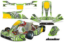 AMR Racing Graphics Tony Kart Venox Sticker Wrap Kits Decals DEADEN GREEN