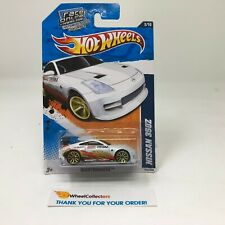 Nissan 350Z #112 * WHITE * 2011 Hot Wheels * HH30