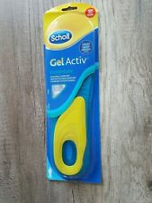 Scholl Gel Activ Everyday Einlegesohlen für Männer Größe 42 - 48