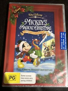 Mickey's MAGICAL CHRISTMAS : Brand New & Sealed DVD