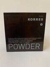 KORRES Multivitamin compact powder Matte finish MVP1 10g 0.35 oz oil free no box