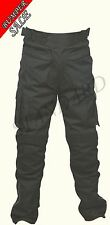 Motorbike Motorcycle Pants CE Armoured Waterproof Textile Trousers Size 38""