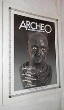 ARCHEO N 6 Agosto 1985 Papiri da Ercolano Mostra a Torino San Leucio Eraclea di