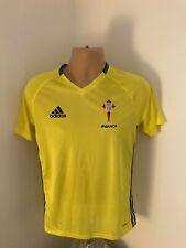 Celta Vigo Yellow Training Top Size Adult Small