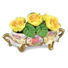 Reutter Porzellan Rosenpokal Rose Flower Arrangement Puppenstube 1:12   1.601/5