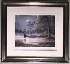 Jeff Rowland art - Under The Moon of Love - signed print