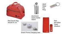 Genuine Seat Gift Set red Sports bag, Key ring, Towel, Drinks Bottle & USB Lead