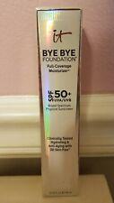 It Cosmetics bye bye Foundation. Full coverage moisturizer +Spf50.(Fair)Exp.5-22
