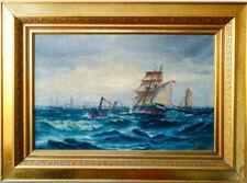 Künstlerische Malerei von 1800-1899 auf Leinwand-Seefahrt & Schiffe
