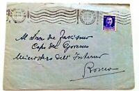 ITALY - Cover - 1942 - 50 c - Addressed To Mussolini! - From Salerno