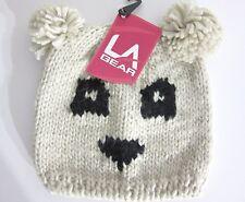 Panda Beanie Hat Junior Kids La Gear Product BNWT
