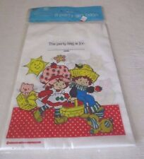 Strawberry Shortcake vintage 8 party bags