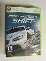 NEED FOR SPEED: SHIFT (Microsoft Xbox 360, 2009) COMPLETE & TESTED! AWESOME GAME