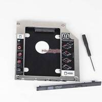 9.5mm SATA 2nd HDD Hard Drive Caddy Adapter for Apple MacBook pro A1286 mid 2012
