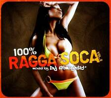 CD NEUF - 100% RAGGA SOCA VOL. 2 mixed by DJ ALMIGHTY / Album 2 CD - C2