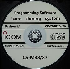 Icom CS-M88/87 Software for IC-M88 and IC-M87 Series Radio Revision 1.1