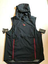 NFL Arizona Cardinals Nike Shield Fly Rush Hoodie Vest Jacket Men s Medium 93193235b