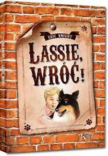 Lassie wroc! Eric Knight polska ksiazka, polish book, oprawa miekka lektura