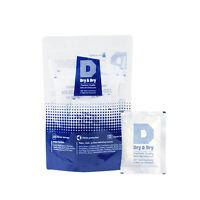 "20 gram X 5 PK ""Dry & Dry"" High Quality Pure Reusable Silica Gel Desiccant"