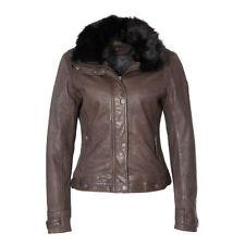 Hüftlange Damenjacken & -mäntel aus Leder in Größe XL