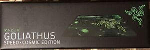 Razer - Goliathus Speed Cosmic Edition - Small Gaming Mouse Pad - Black/Green