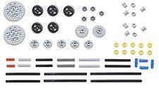 LEGO 61pc gear axle lot SET Technic Mindstorm nxt ev3 motor power functions pack