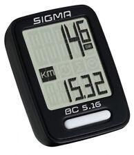 Sigma Fahrrad Tacho Fahrradcomputer mehrere Funktionen BC 5.16 kabelgebunden
