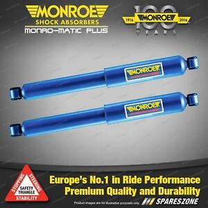 Rear Monroe Monro-Matic Plus Shock Absorbers for Nissan STANZA A10 SUNNY B310
