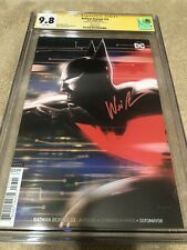 Batman Beyond 33 CGC SS 9.8 Will Friedle Exclusive Andrews Top 1 Variant Cover