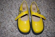 Pom D'Api Shoes Girls Size 30 US 12 M Yellow Mary Janes