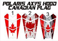 POLARIS canada flag HOOD decal GRAPHICS WRAP RUSH 800 600 PRO S X AXYS 120 137