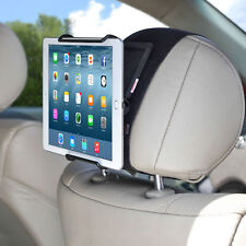 TFY Car Headrest Mount Holder with Angle- Adjustable Clamp for Tablets - i PAD