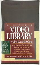 5-Pack Blair Video Library Cassette Cases VHS & BETA - New - Factory Sealed